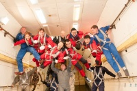 On 22nd of November we performed a Zero Gravity flight for the mixed tourist group