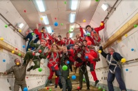 On 27th of April the Zero Gravity flight was held for a mixed group of tourists