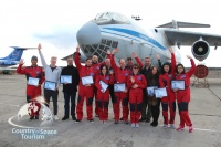 The Zero Gravity flight on 25th of April is accomplished!